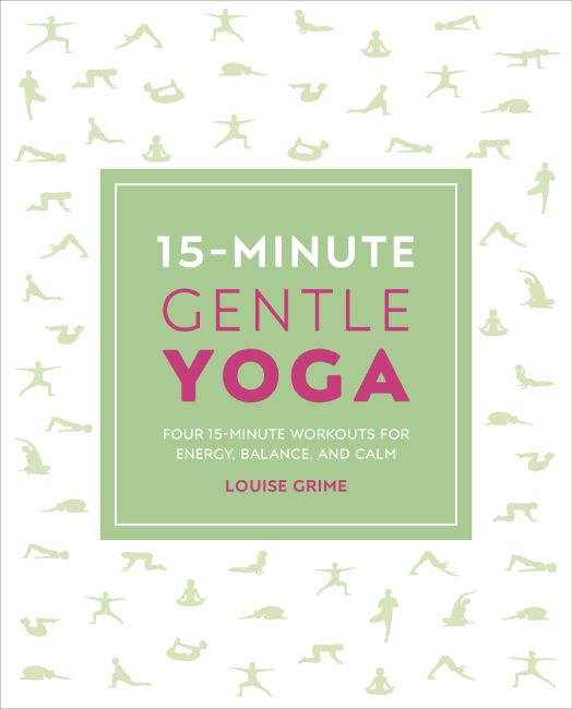Paperback cover of 15-Minute Gentle Yoga