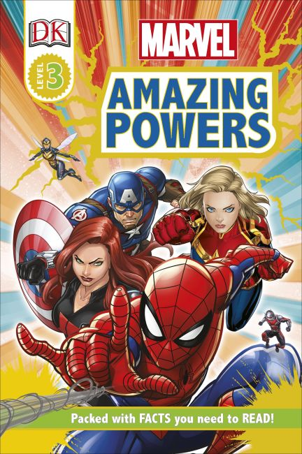Hardback cover of Marvel Amazing Powers