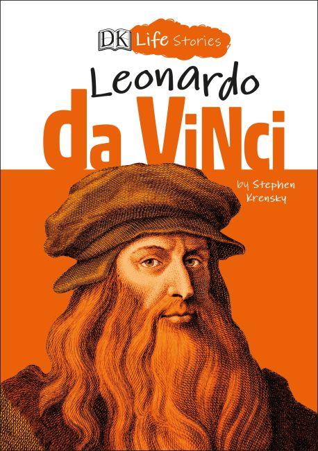 Hardback cover of DK Life Stories Leonardo da Vinci
