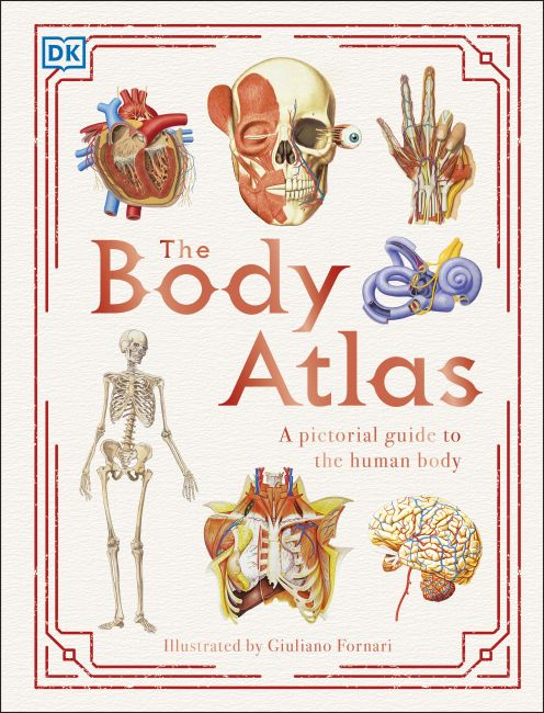Hardback cover of The Body Atlas