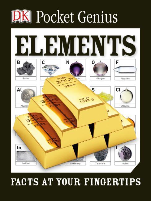 Paperback cover of Pocket Genius: Elements
