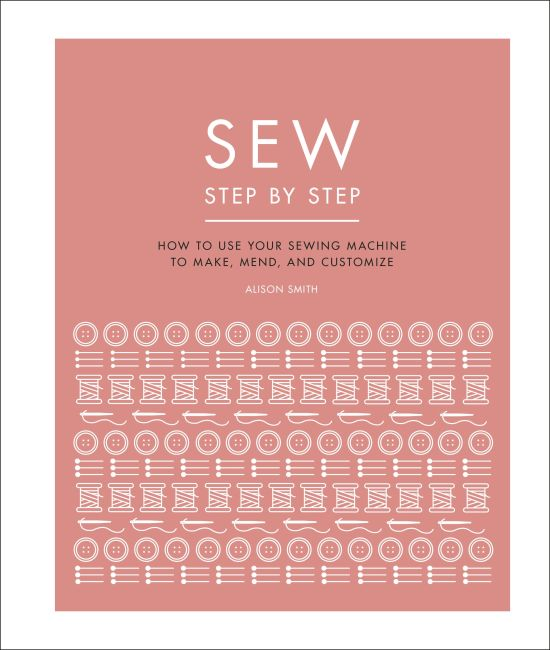 Hardback cover of Sew Step by Step