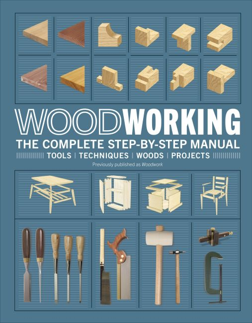 Hardback cover of Woodworking