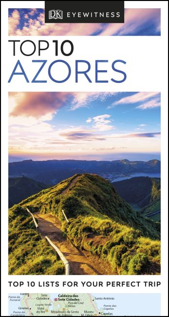 eBook cover of DK Eyewitness Top 10 Azores