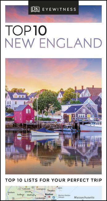 eBook cover of DK Eyewitness Top 10 New England