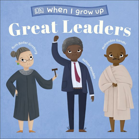 Board book cover of When I Grow Up - Great Leaders