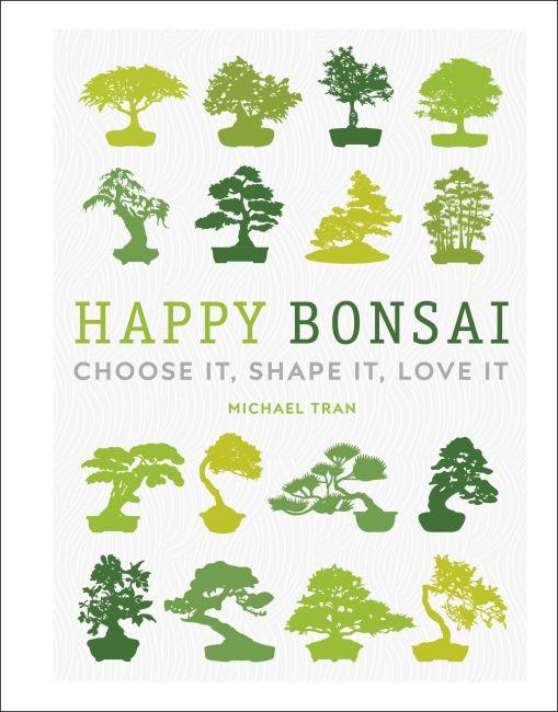 Hardback cover of Happy Bonsai