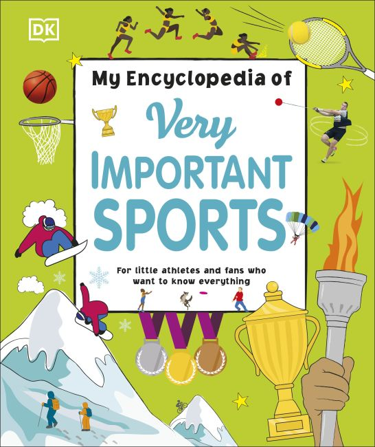 Hardback cover of My Encyclopedia of Very Important Sports