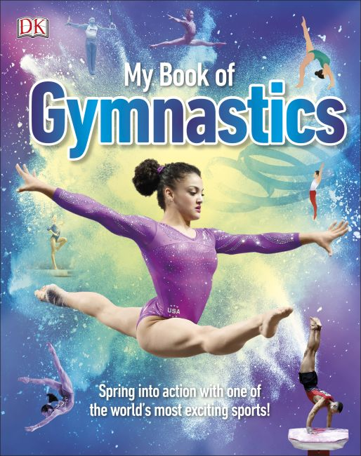 Hardback cover of My Book of Gymnastics
