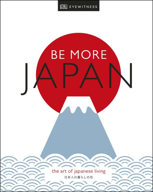 Hardback cover of Be More Japan