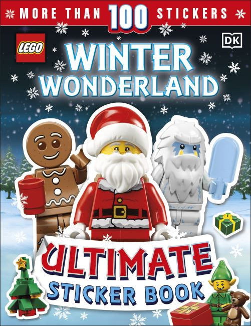 Paperback cover of LEGO Winter Wonderland Ultimate Sticker Book