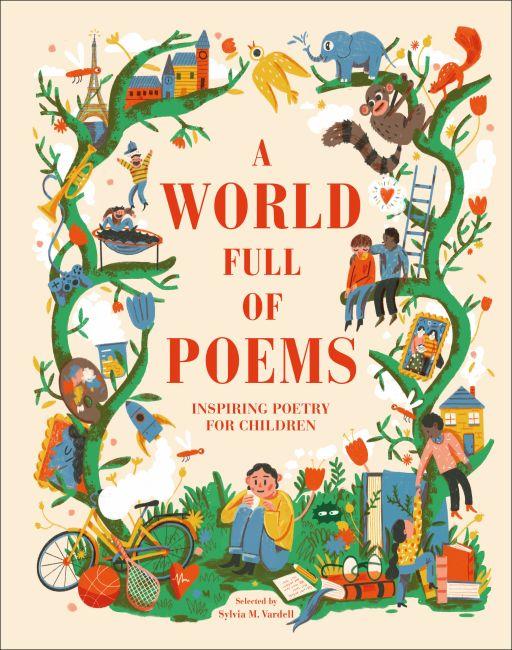 Hardback cover of A World Full of Poems
