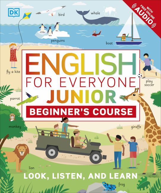 Paperback cover of English for Everyone Junior: Beginner's Course