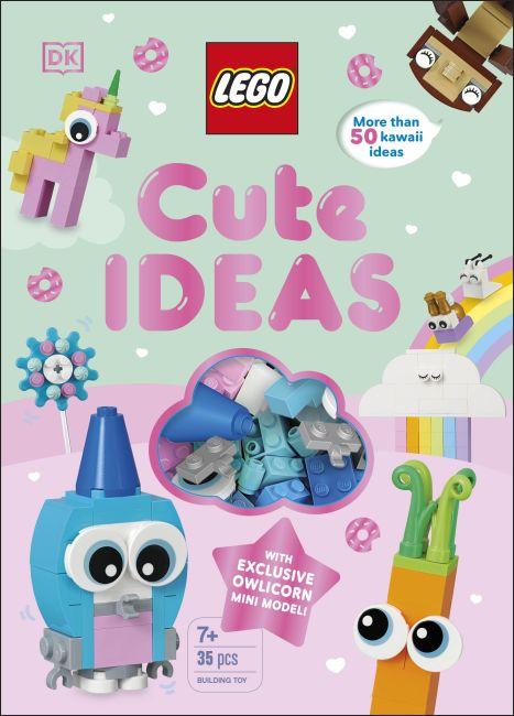 Hardback cover of LEGO Cute Ideas