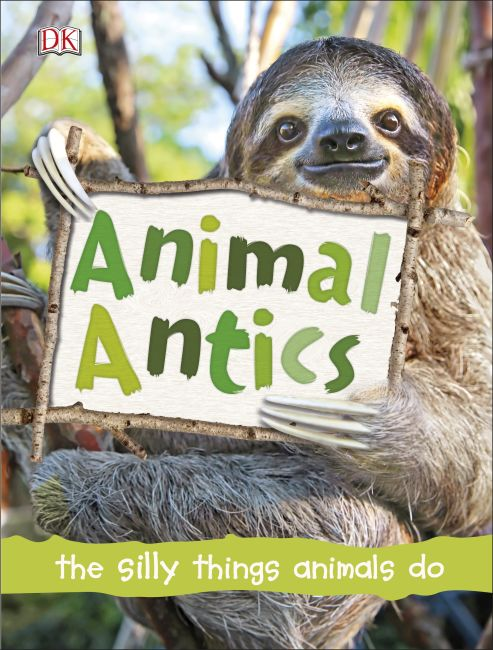 Hardback cover of Animal Antics