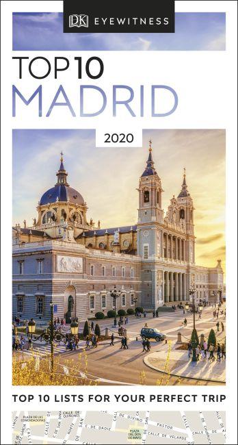 eBook cover of DK Eyewitness Top 10 Madrid