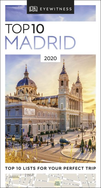 eBook cover of DK Eyewitness Top 10 Madrid