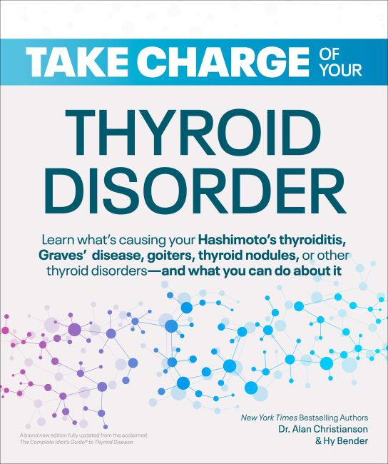 Paperback cover of Take Charge of Your Thyroid Disorder
