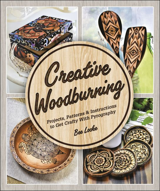 Paperback cover of Creative Woodburning