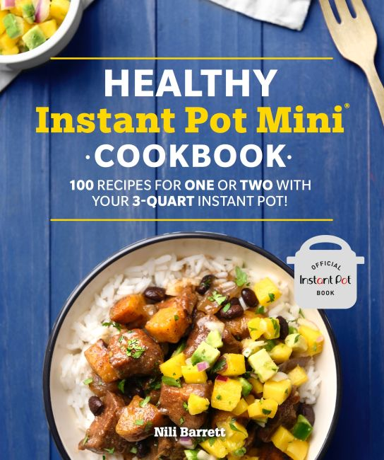 Paperback cover of Healthy Instant Pot Mini Cookbook