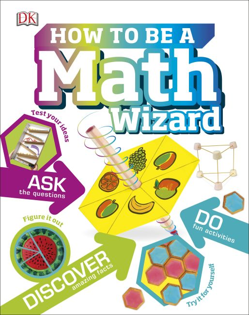 Hardback cover of How to be a Math Wizard