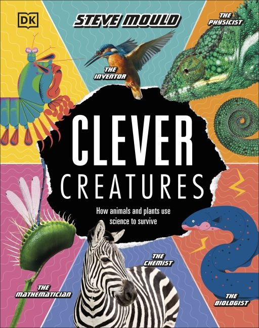 Hardback cover of Clever Creatures