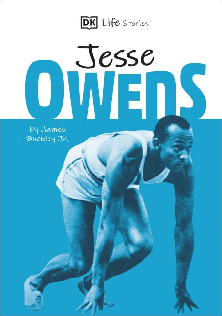 Hardback cover of DK Life Stories Jesse Owens