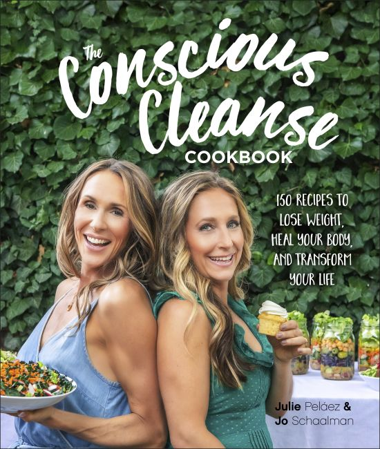 Hardback cover of The Conscious Cleanse Cookbook