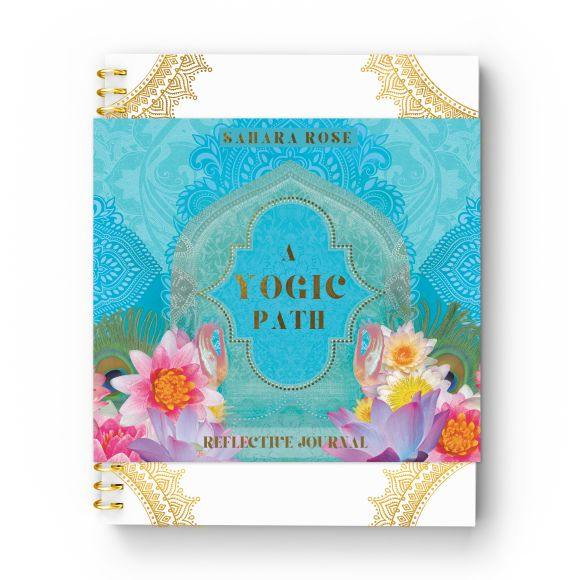 Hardback cover of A Yogic Path Reflective Journal