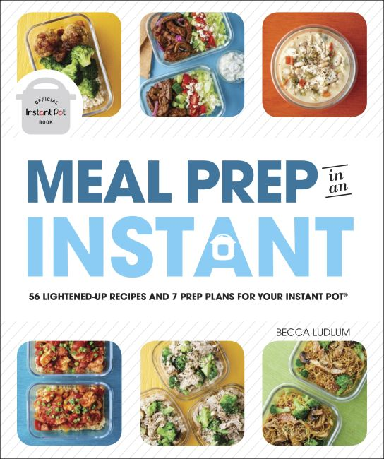 Paperback cover of Meal Prep in an Instant