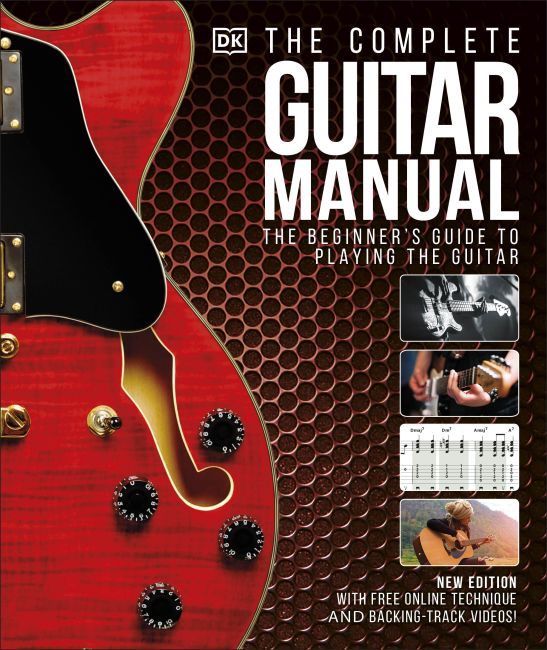 Hardback cover of The Complete Guitar Manual