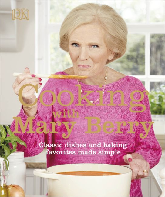 Paperback cover of Cooking with Mary Berry