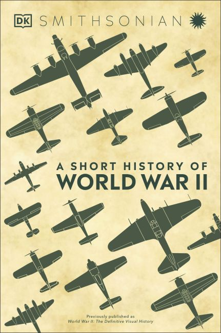 Hardback cover of A Short History of World War II