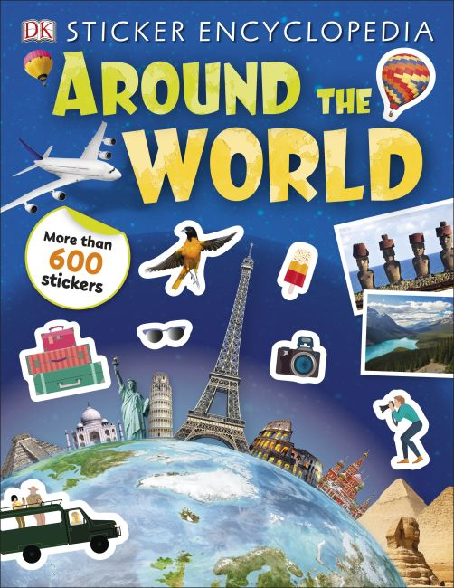 Paperback cover of Sticker Encyclopedia Around the World