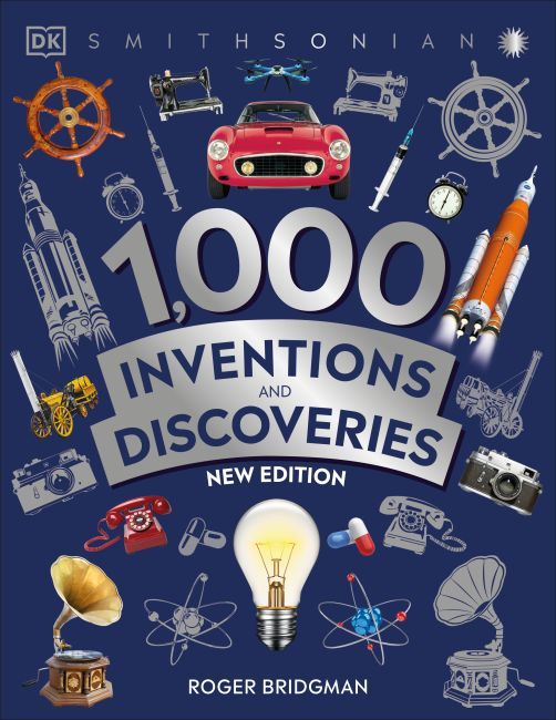 Paperback cover of 1,000 Inventions and Discoveries