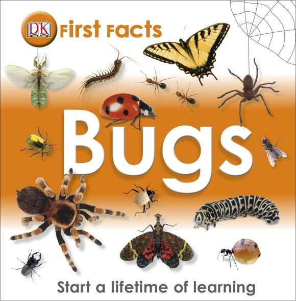 eBook cover of First Facts: Bugs