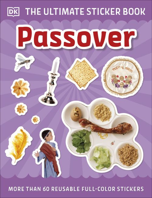 Paperback cover of Ultimate Sticker Book Passover
