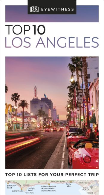 eBook cover of DK Eyewitness Top 10 Los Angeles