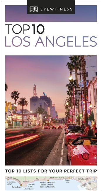 eBook cover of DK Eyewitness Top 10 Los Angeles
