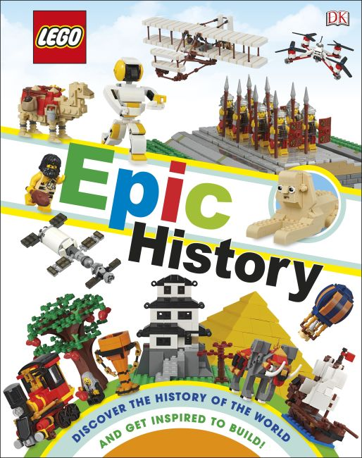 Hardback cover of LEGO Epic History  (Library Edition)