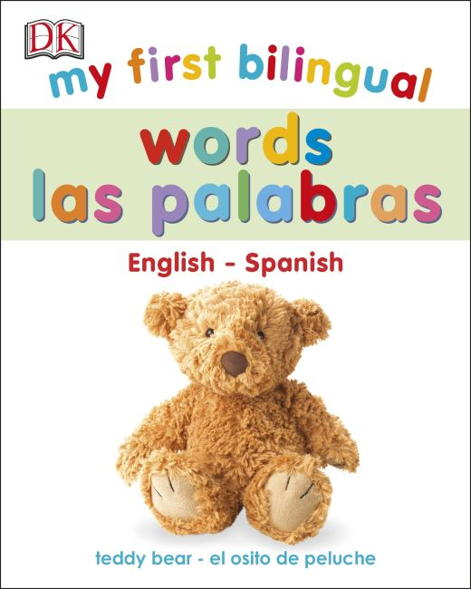 Board book cover of My First Bilingual Words