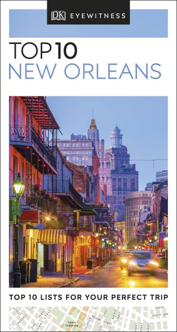 eBook cover of DK Eyewitness Top 10 New Orleans