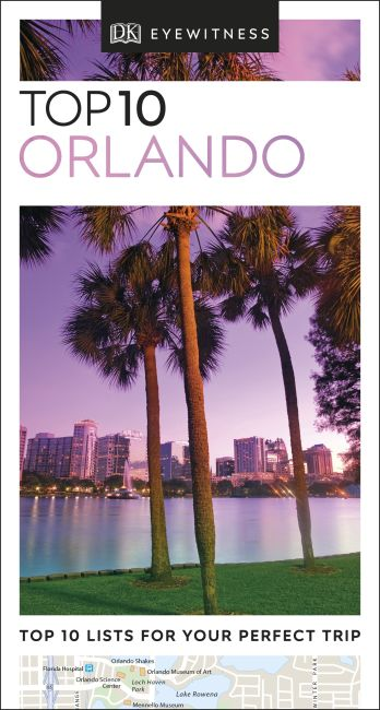 eBook cover of DK Eyewitness Top 10 Orlando