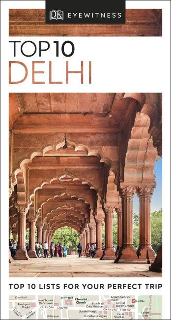 eBook cover of DK Eyewitness Top 10 Delhi