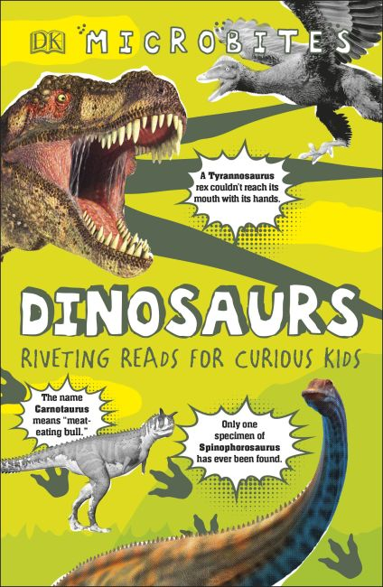 Paperback cover of Microbites: Dinosaurs