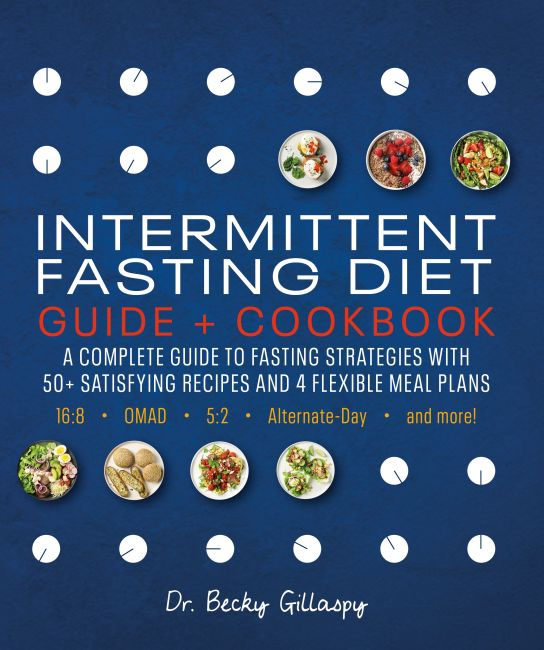 Paperback cover of Intermittent Fasting Diet Guide and Cookbook