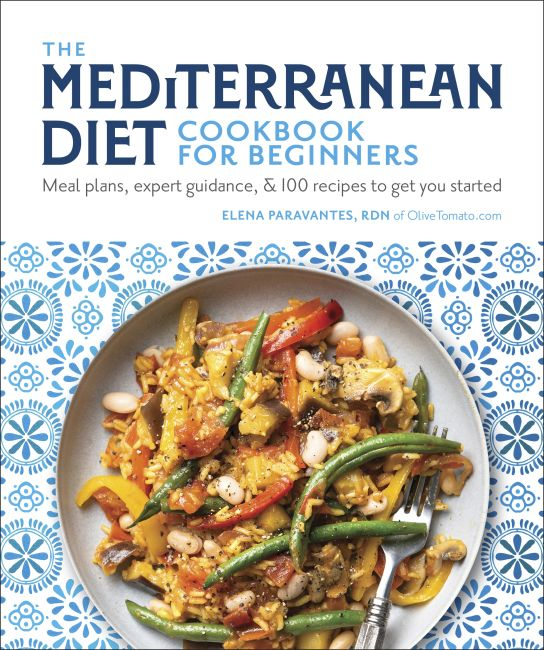 Paperback cover of The Mediterranean Diet Cookbook for Beginners