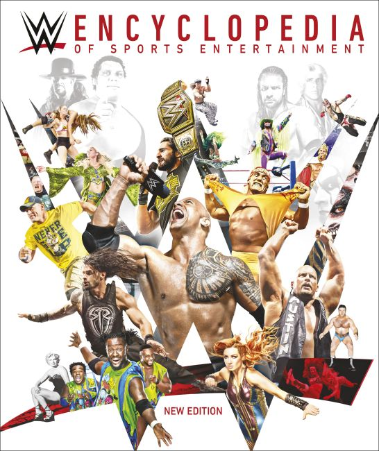 Hardback cover of WWE Encyclopedia of Sports Entertainment New Edition