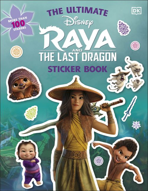 Paperback cover of Disney Raya and the Last Dragon Ultimate Sticker Book