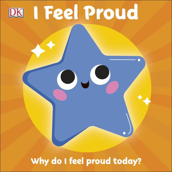 Board book cover of I Feel Proud